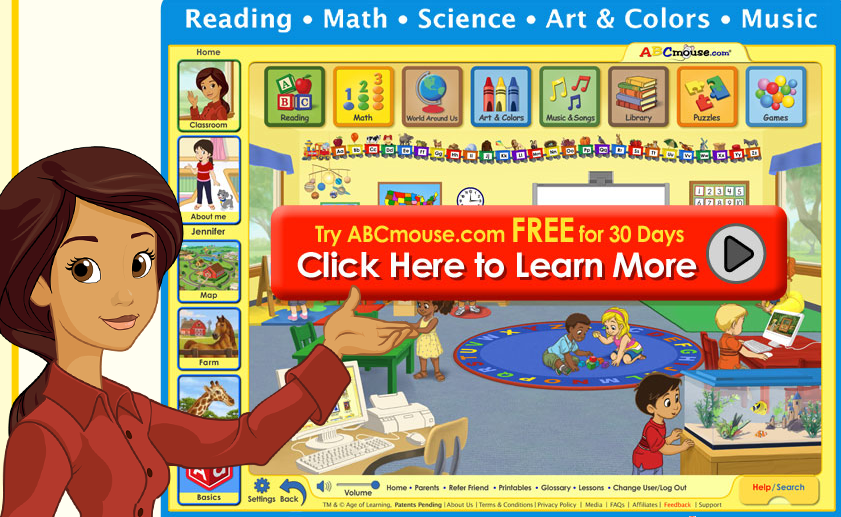 Free 30-Day Trial of ABCMouse.com - Full Online Preschool and Kindergarten Curriculum #homeschool