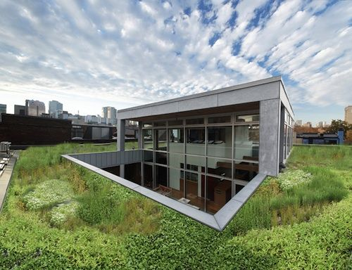 unique house is half above – half below – ground level, by architect ...