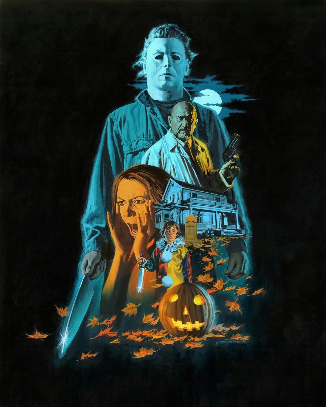Michael Myers / Halloween Halloween movie poster