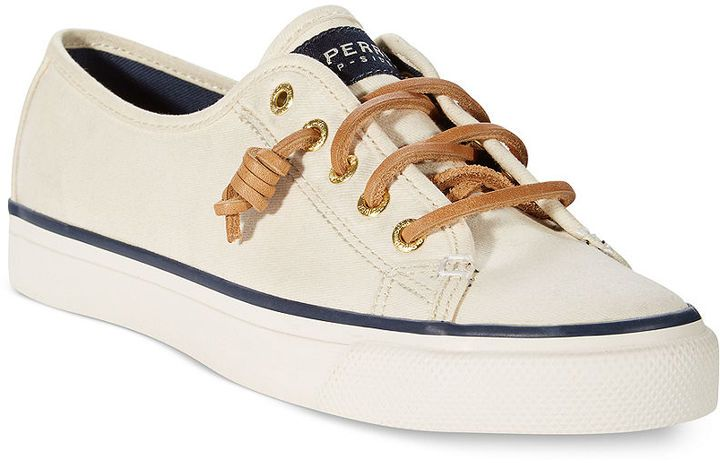 04be71ce354d Sperry Top-Sider Women s Seacoast Sneakers -- These or the Converse  Shoreline  Can t decide!