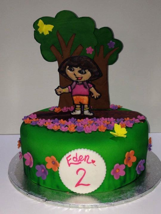 Dora Girls Birthday Cake Noosa Sunshine Coast Cake Shop Made to