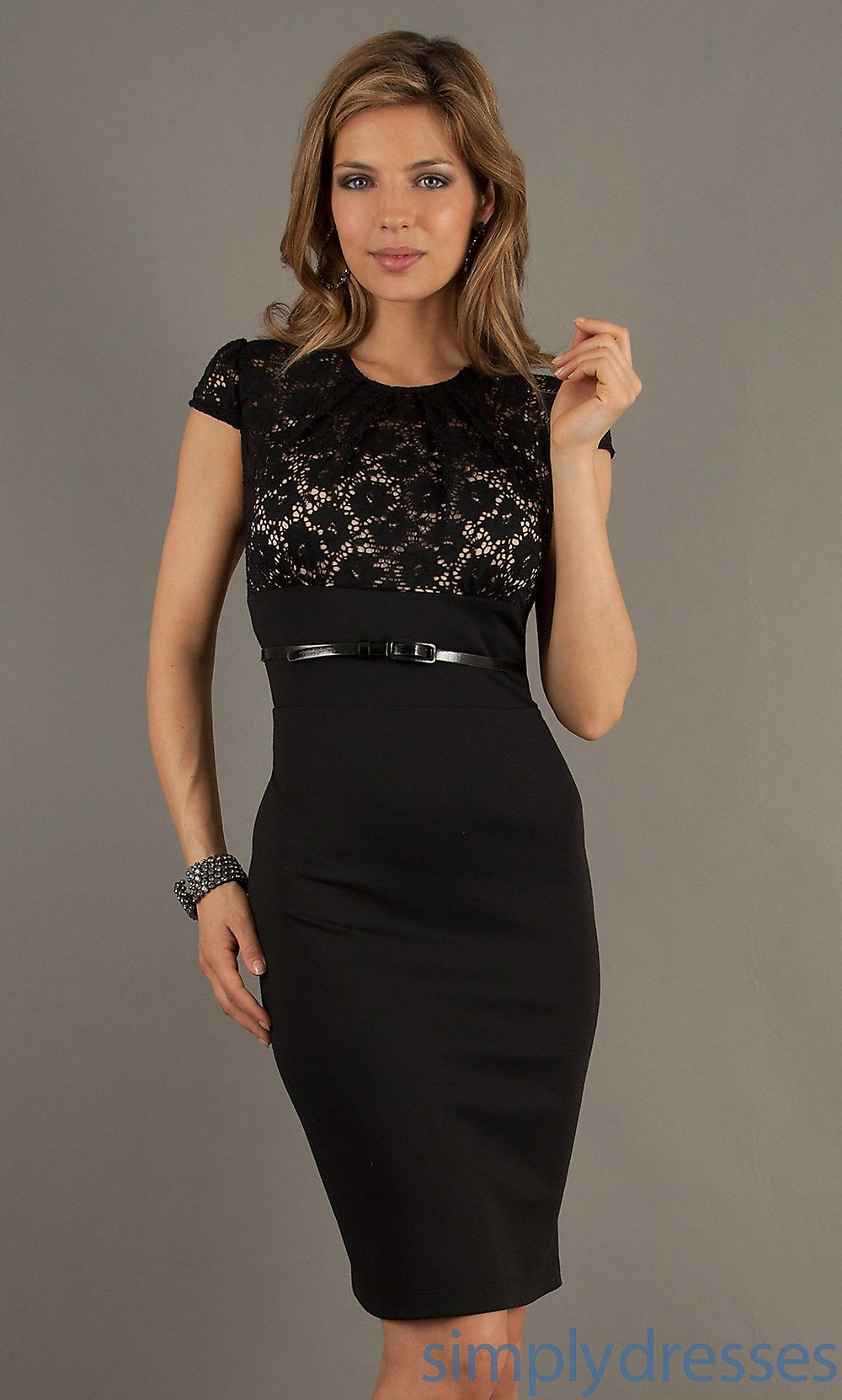 Dress short fitted lace embellished dress simply dresses style