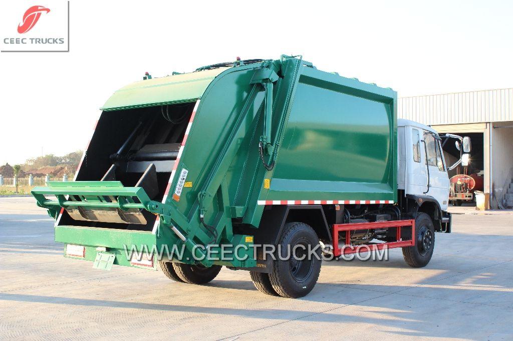 Zimbabwe 14 Cbm Waste Compactor Truck Greatly Export From Ceec Trucks Trucks Compactor Garbage Truck