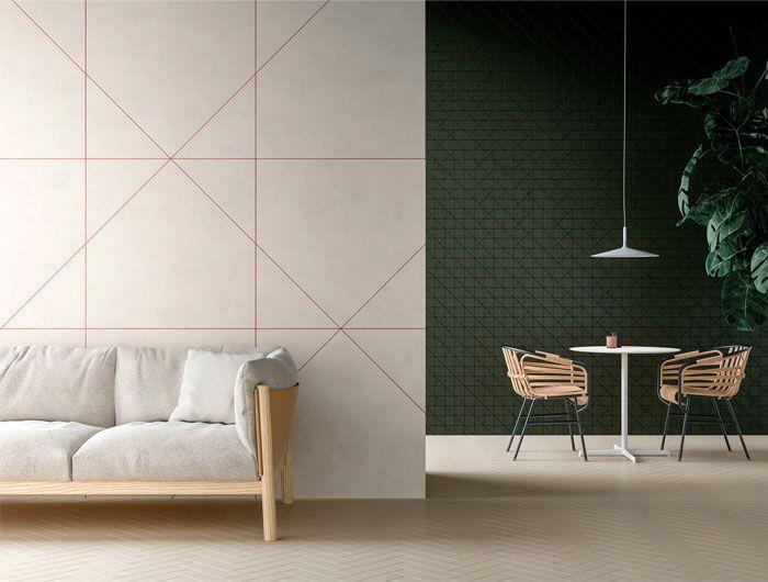Dekorative Geometrische Muster Interieur - elegantwohnzimmer.club