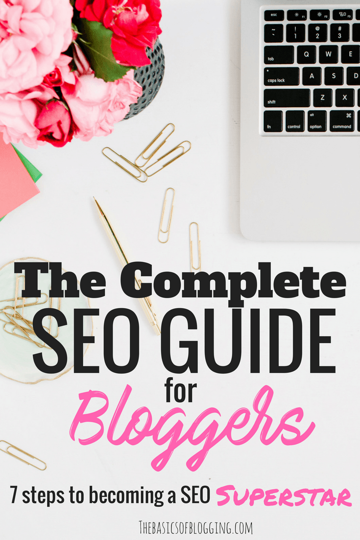 SEO Guide for Beginner Bloggers. Tips to ensure your blog is optemized to rank well on Google and other search engines! Includes details on the FREE SEO tools Google provides you to pick the right keywords, plus a step by step instructions to switch to HT