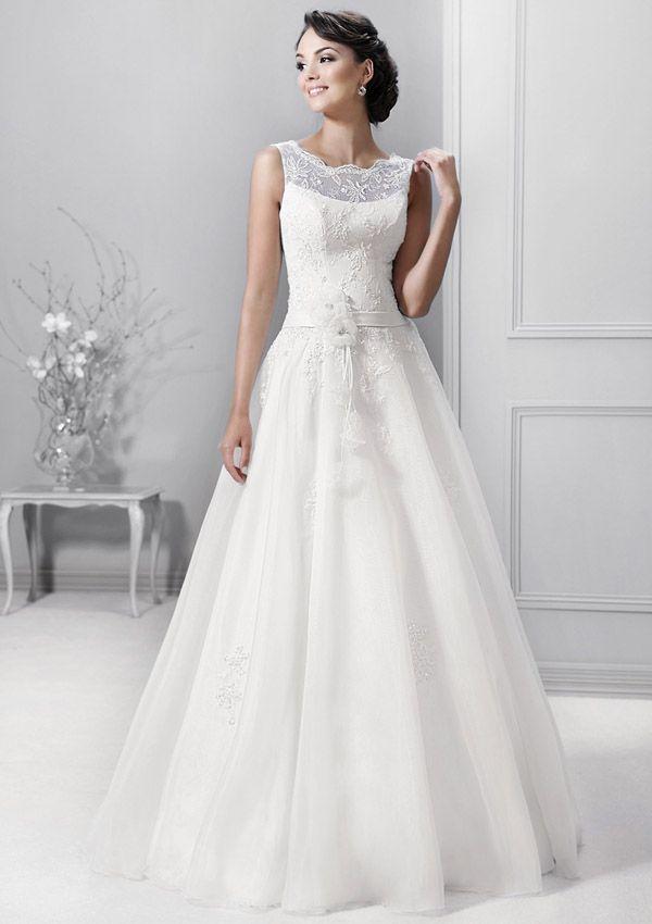 Brautkleider im gehobenen Preissegment | miss solution Bildergalerie - Modell 14306 by AGNES BRIDAL DREAM