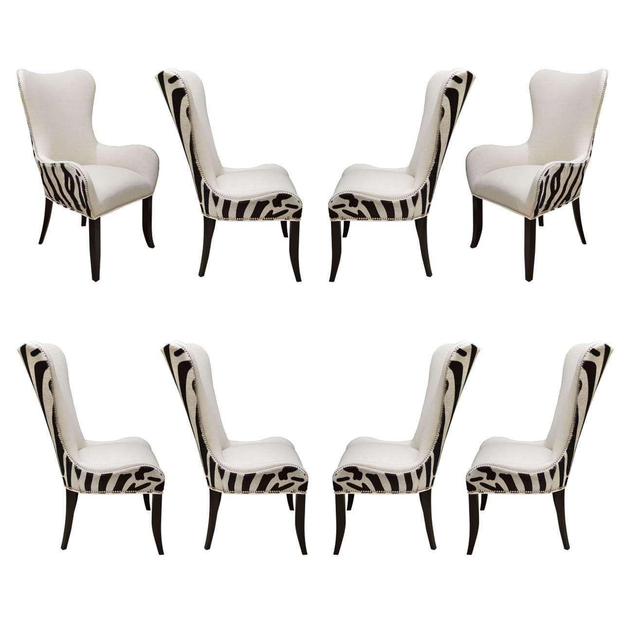 Pinsurat Khan On Dining Room  Shuoruicn  Pinterest  Room Enchanting Zebra Dining Room Chairs Design Ideas