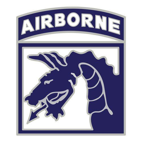 Army 18th Airborne Corps SSI Decal Sticker     U.S
