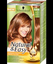 Schwarzkopf Natural & Easy 546 Kupari Keskivaalea hiusväri