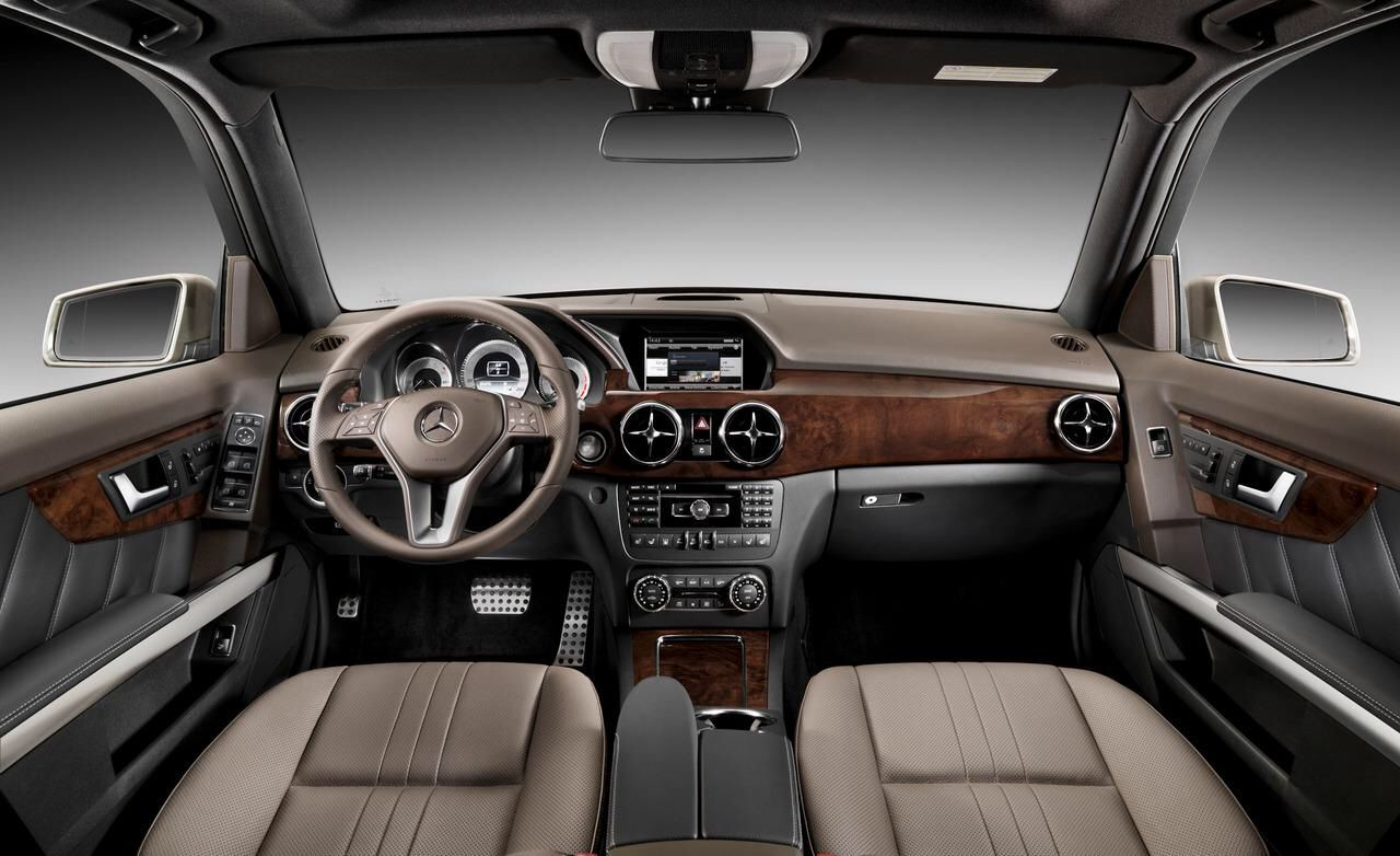 2014 mercedes benz glk interior - Mercedes Suv Interior 2014