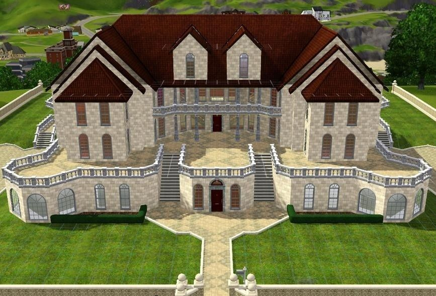 Sims 3 Mansion Plans Images