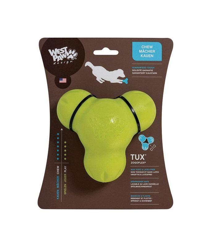 West Paw Zg040grn Tux Chew Dog Toy Plastic 4 Dog Toys Best