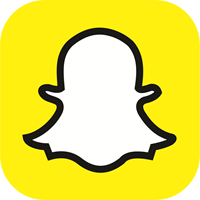 Snapchat is the app that you get to talk with people through