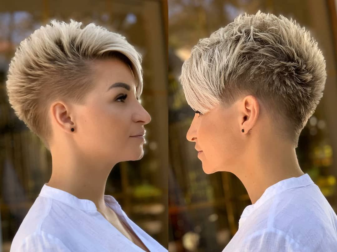 10 Trendy Pixie Haircuts and Color 2021 | Women Ve