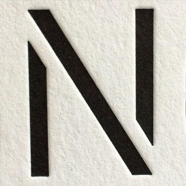 N: Brooklyn Stencil / Constellation / Chester Jenkins @bspk_xyz. Brooklyn Sans & Stencil were drawn for Michael Bierut's team @pentagramdesign for their identity program for @barclayscenter. #brooklynstencil #lettering #typedesign #stencil #letterpress