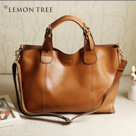 100% genuine leather bags women leather handbags messenger bag ...