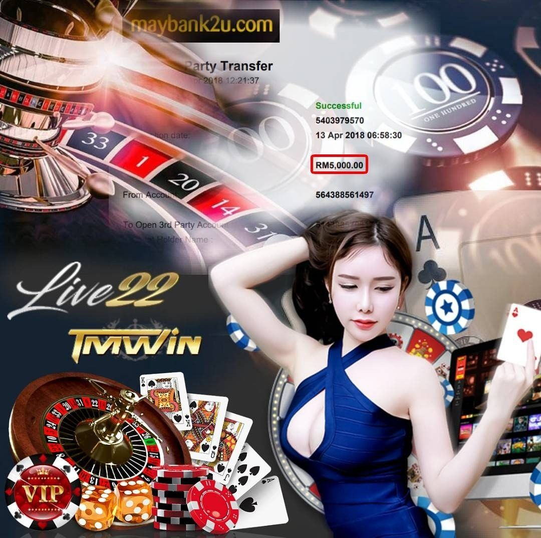 Live22 Live Casino Bagi Bigwin Customer Vvip Withdraw Rm5000
