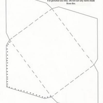 Sample A Envelope Template Common Envelope Sizes Weddings One