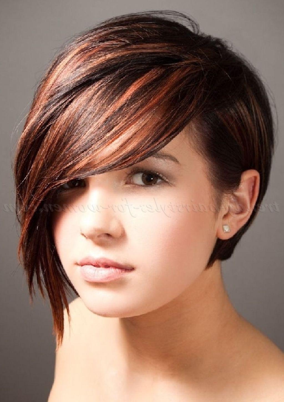 short asymmetrical bob haircuts - 2015 hairstyles trend | short