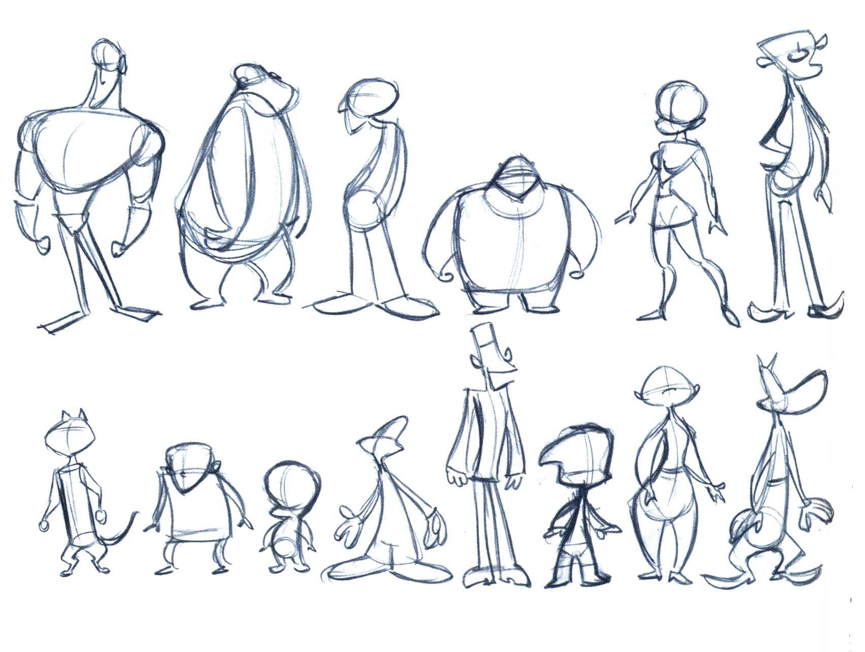 Character Design Shape Theory : Character animation sheets related pictures d
