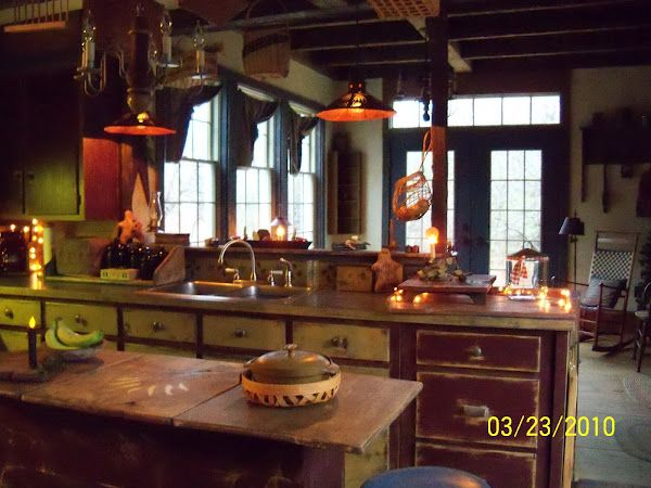 My 1860 Farmhouse Design Amp Decor Primitive Kitchen