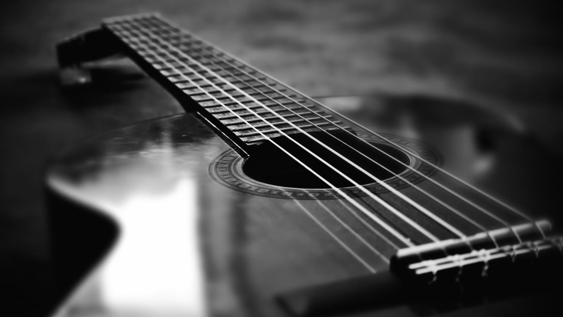 Black And White Guitar Wallpapers Group 1600 1200 Guitar Picture Wallpapers 48 Wallpapers Adorable Wall Laptop Wallpaper Guitar Collection Acoustic Guitar