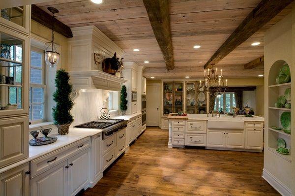 Wunderbar Traditionelle Weiße Landhausküche   15 Coole Wohnideen