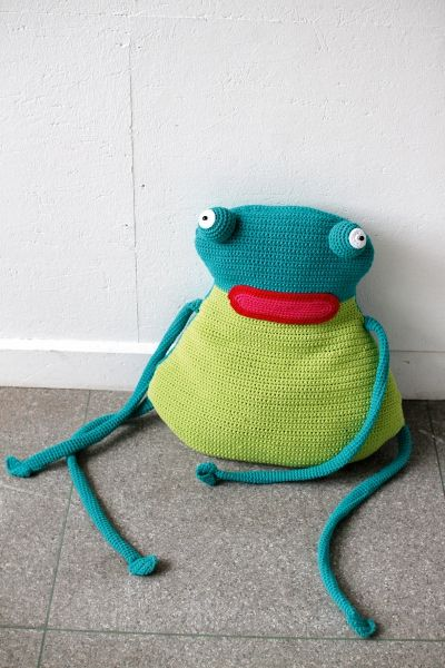 Froschkönig Amigurumi häkeln - kostenlose Häkelanleitung ...