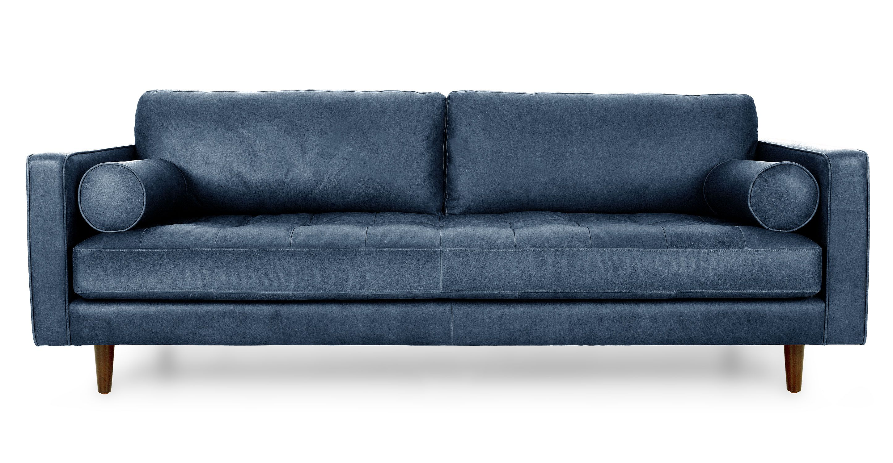 Best Sven Oxford Blue Sofa In 2019 Blue Leather Sofa Modern 400 x 300