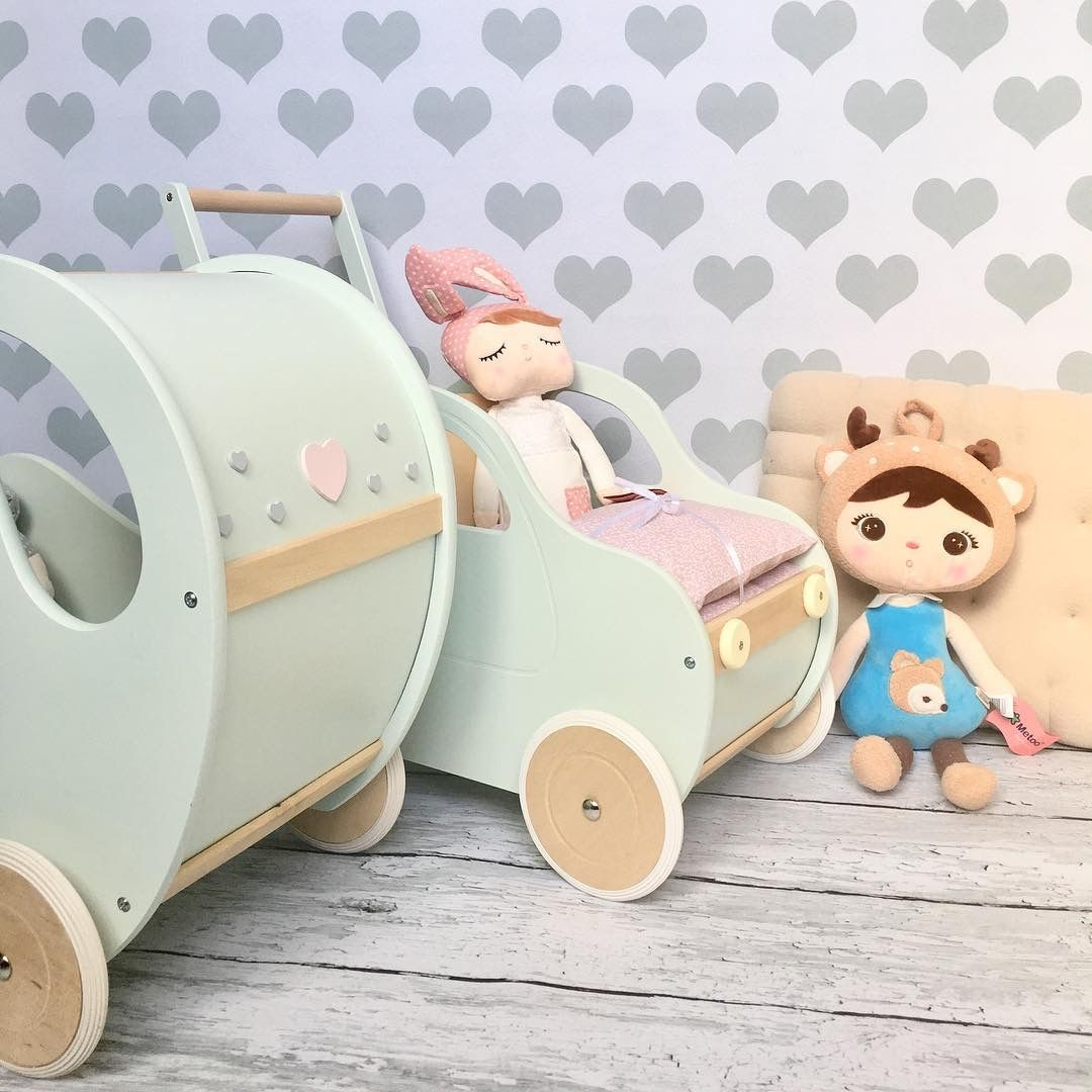 Toy Pram Walker Push Toy Walker Pram Different Colours And Designs