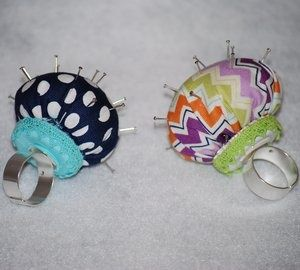 Riley Blake Designs -- Cutting Corners: Pincushion Ring