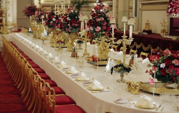 Charity Ball Buckingham Palace Prices Candles Banquet