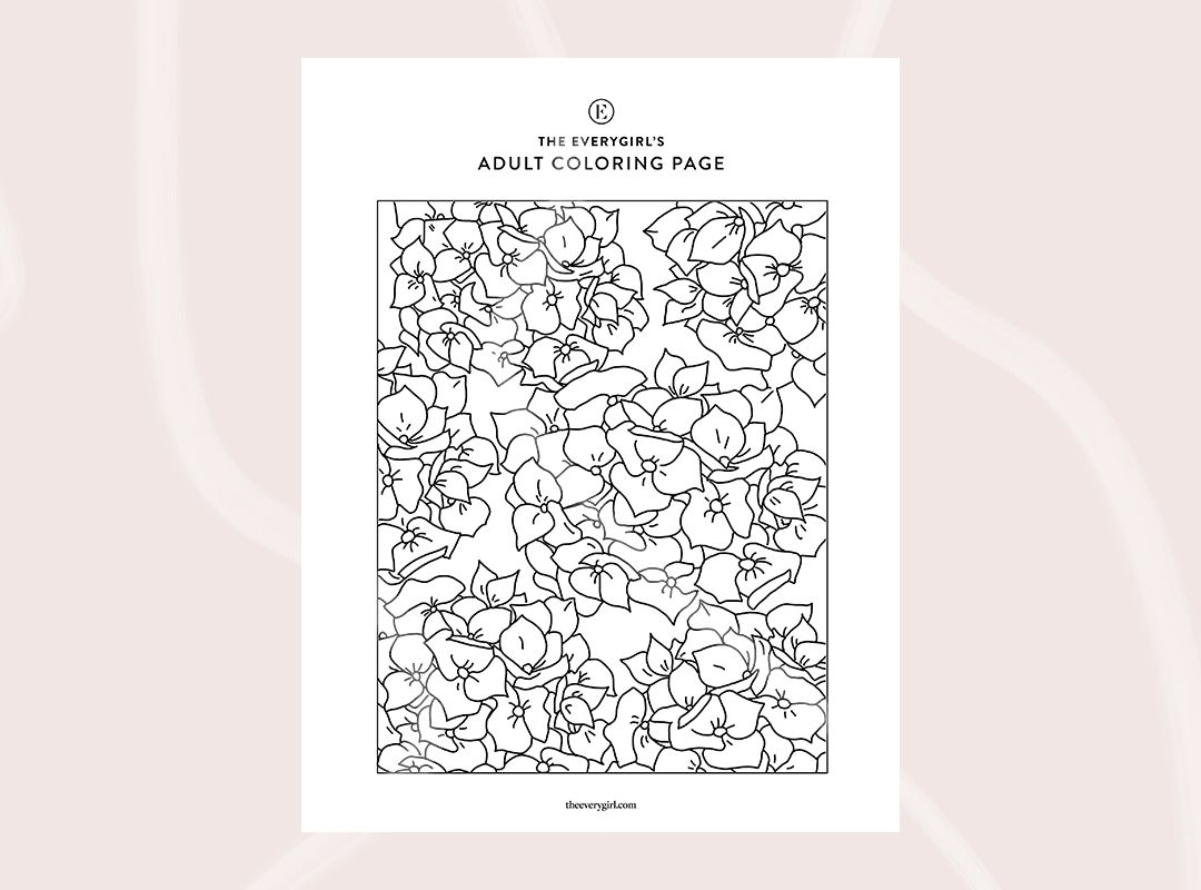 New The Everygirl S Free Printable Coloring Pages In 2020 Coloring Pages Printable Coloring Pages Free Printable Coloring Pages