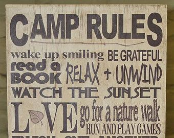 Oma En Opas Camping Regels Kamp Kerstcadeau Voor Grammy