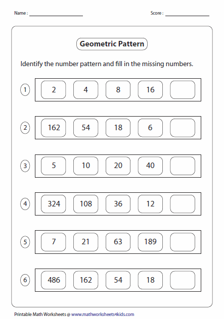 Pin By Umeed Noshi On English Language Number Patterns Worksheets Pattern Worksheet Worksheets For Kids