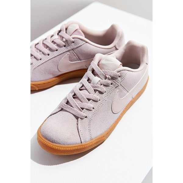 f47d04e0c482 Nike Court Royale Suede Sneaker (560 MAD) ❤ liked on Polyvore featuring  shoes