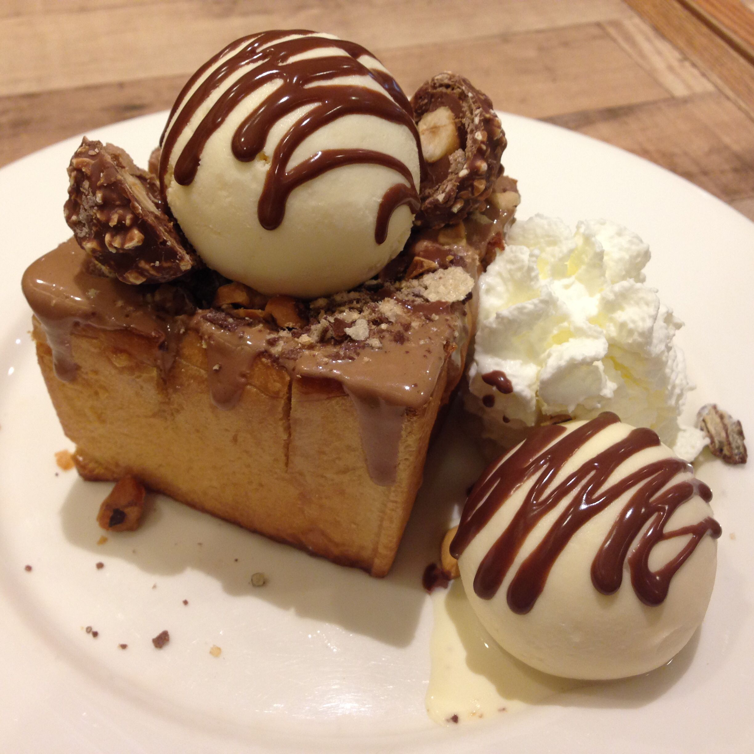 Baby Honey Toast @ After You Dessert Cafe