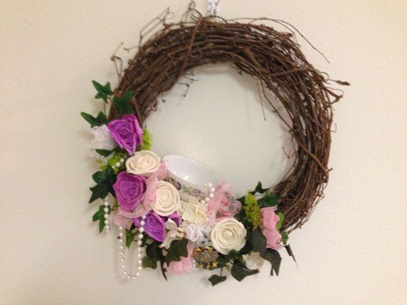 Mothers Day wreath by bloominacres on Etsy, $75.00