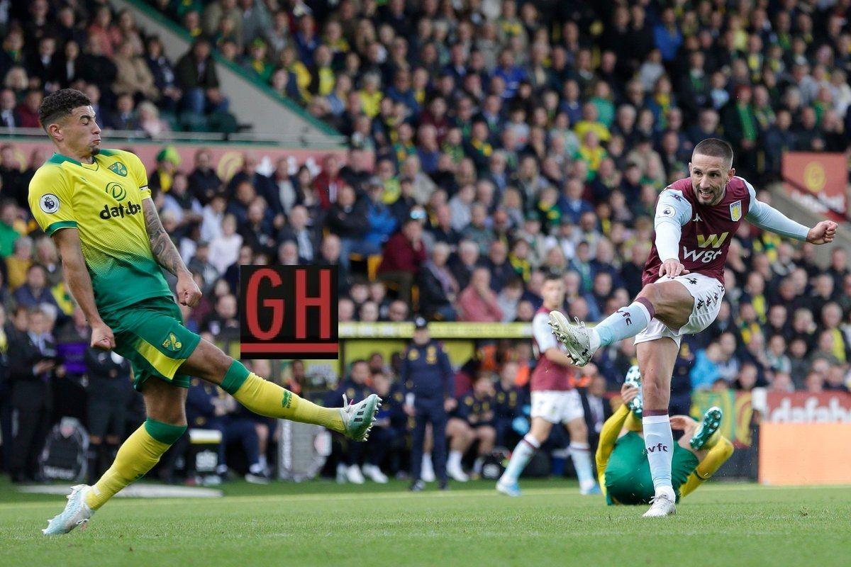 Norwich 1 5 Aston Villa Aston Villa Aston Premier League