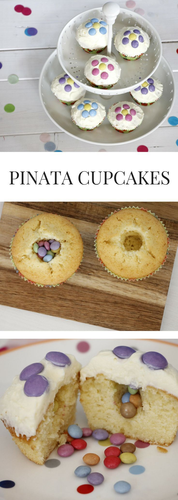 Photo of Geniales Partyrezept: Pinata Cupcakes – Lavendelblog – Ostern
