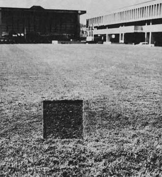 """Jan Dibbets, """"Perspective Correction"""", 1969 