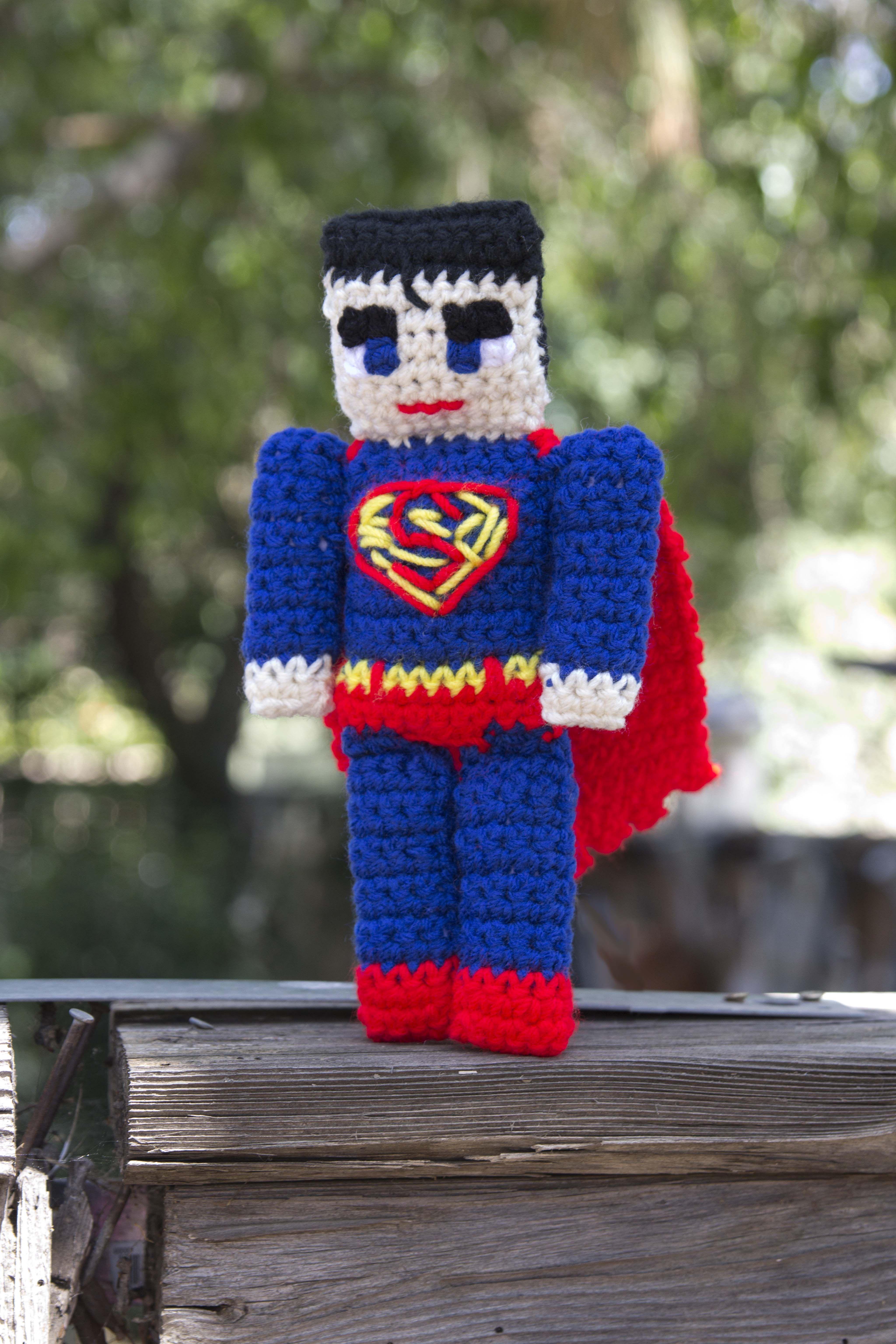 Freebie Friday – Superman Rag Doll