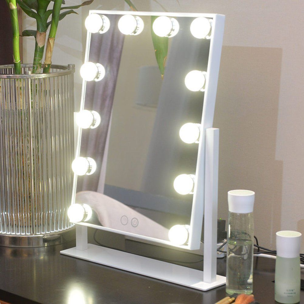 GeekHouse Tabletops Lighted Makeup Mirror