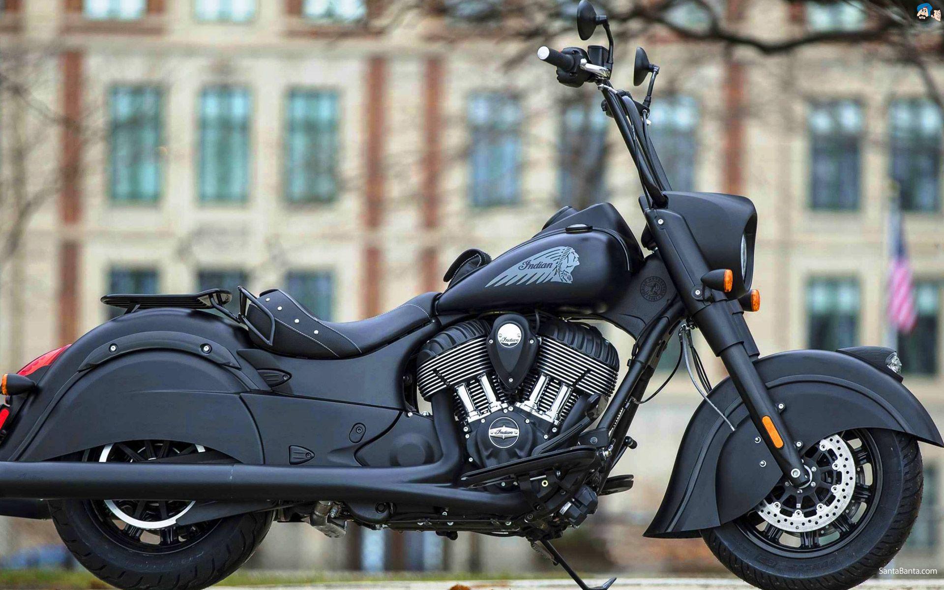 American Choppers Indian Dark Horse Motorcycle Wallpaper