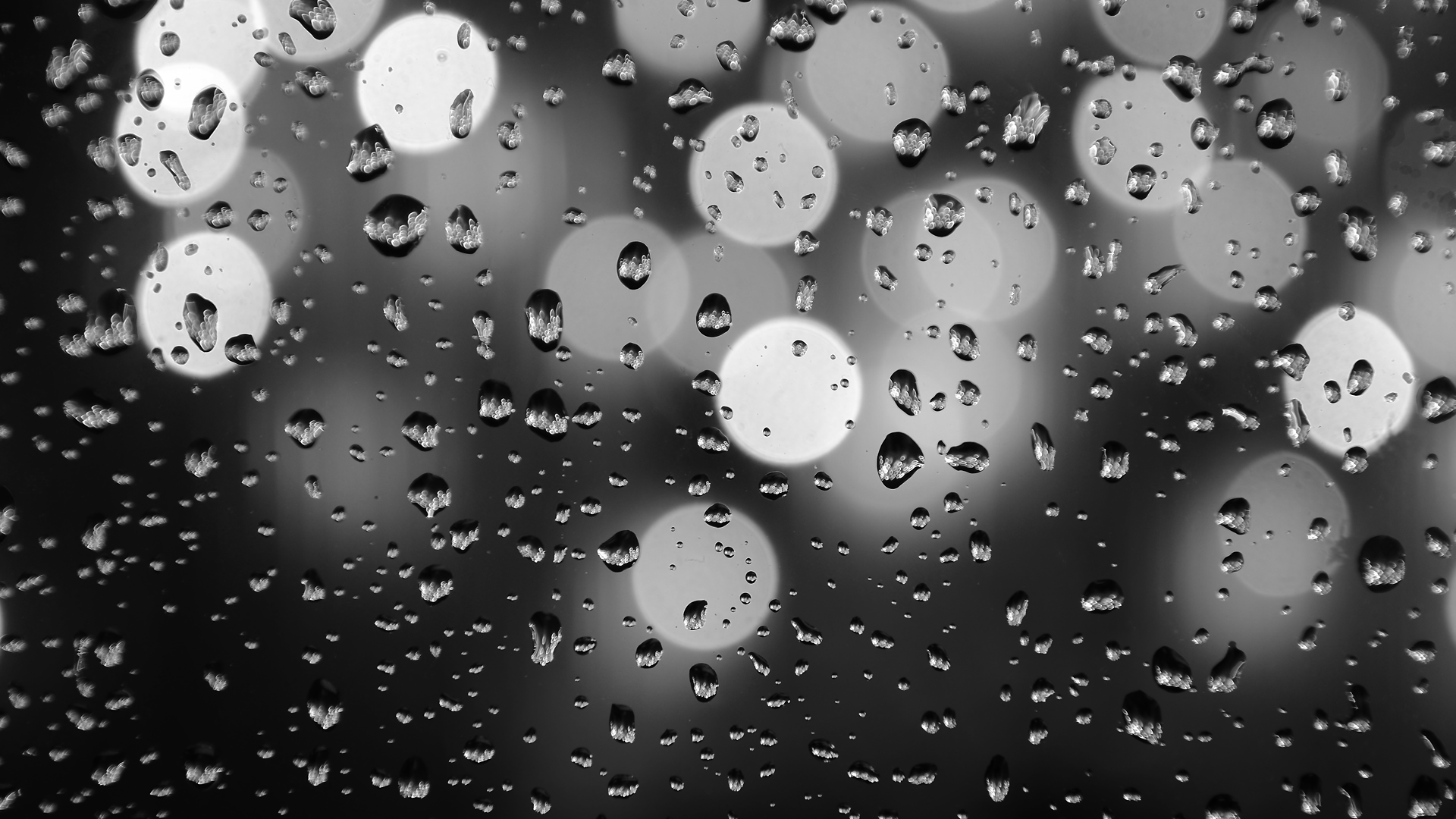 Download Black And White Rain Wallpaper Photo i8s0j
