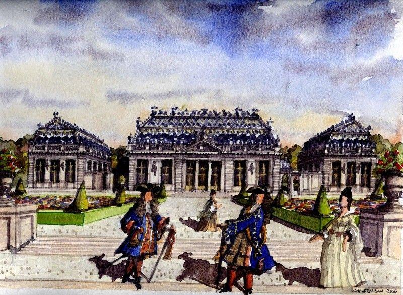 Le Trianon de Porcelaine   Trianon, Versailles, Parc de versailles
