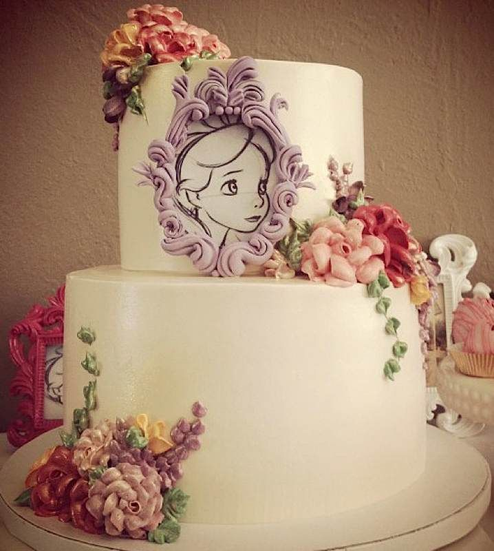 Beautiful Alice In Wonderland Cake By Chocmocakes 3 With Images