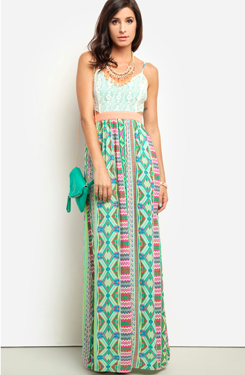 Images of Cute Summer Maxi Dresses - Reikian