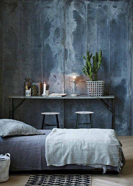 Slaapkamer donkerblauw rauw | Bo Concept | Pinterest | Bo concept ...