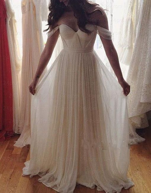 Off Shoulder Wedding Dresses Cheap 2017 Sweetheart Backless Pleats Piping Criss Cross Low Price Vestio De Noiva Bridal Dress Gowns